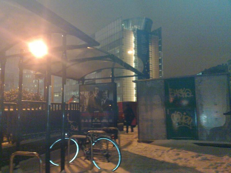 zimná cyklistika pred EK