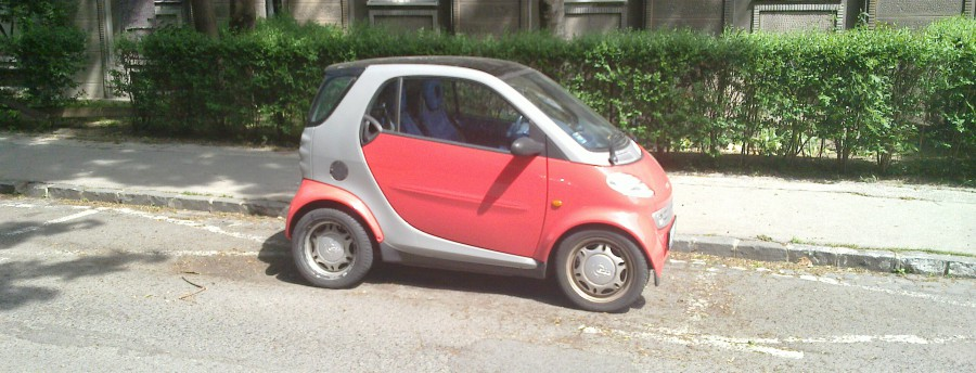 parkovanie male auta